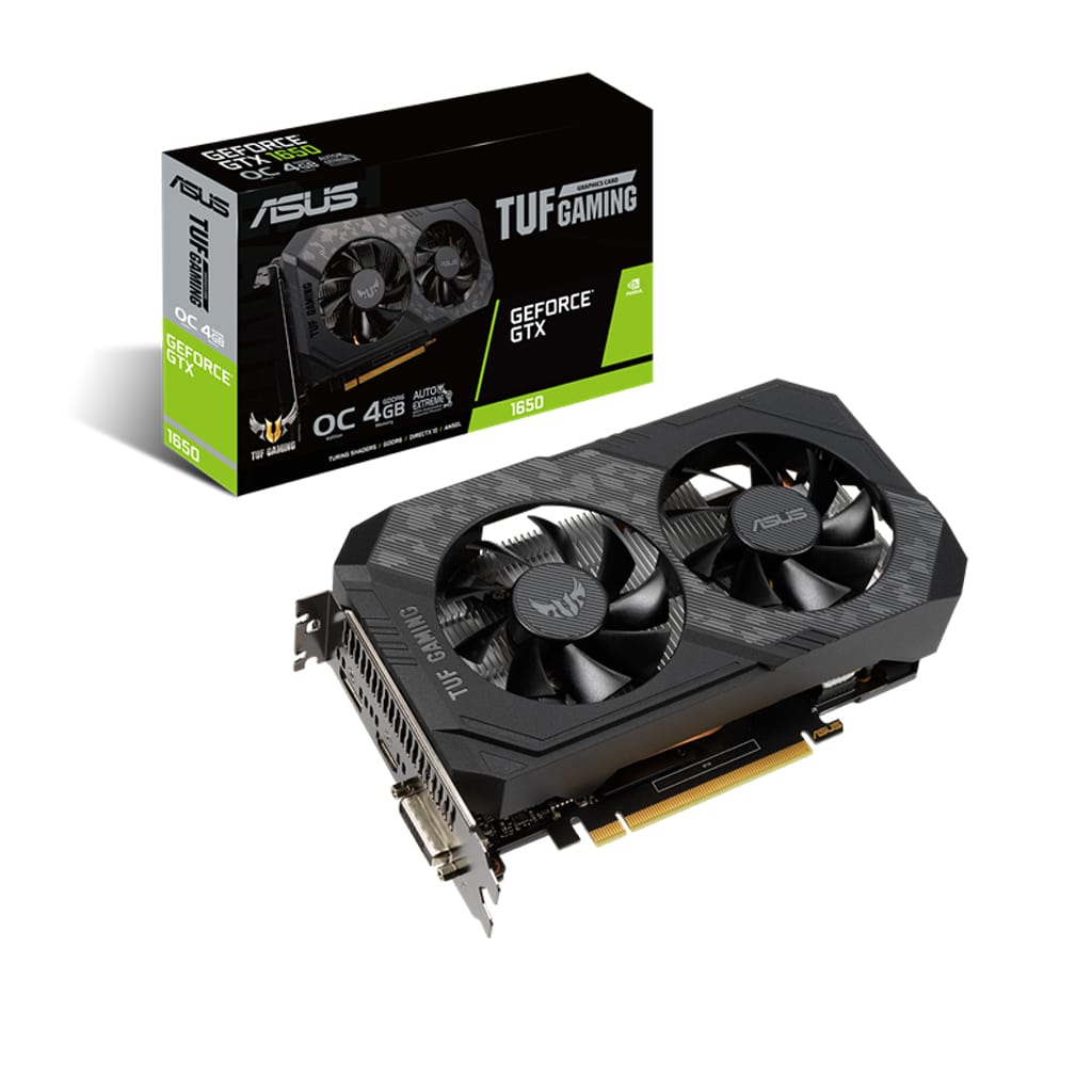 کارت گرافیک ASUS TUF-GeForce-GTX1650-O4GD6-Gaming